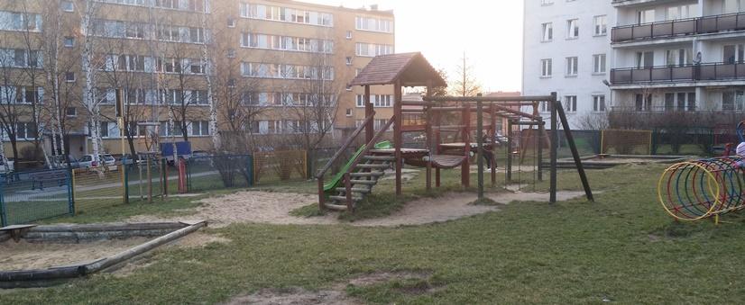 детская площадка в Польше