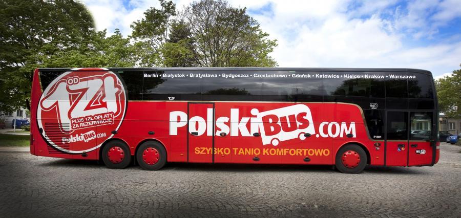 Автобусы польского перевозчика polskibus - путешествуйте по Польше дешево и с комфортом