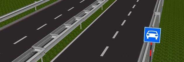 Скоростные дороги в Польше - многополосные с центральной разделительной полосой