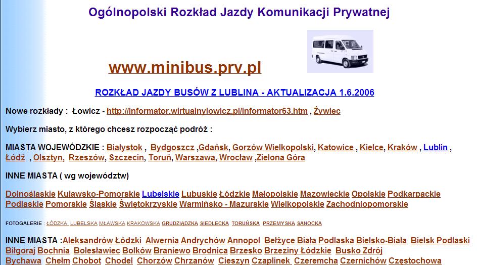 Список частных польских перевозчиков