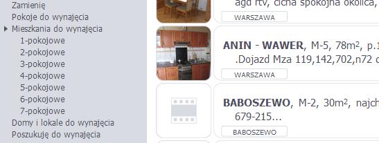 Аренда квартиры в Польше