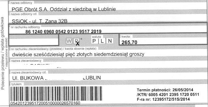 Стоимость электроэнергии в Польше