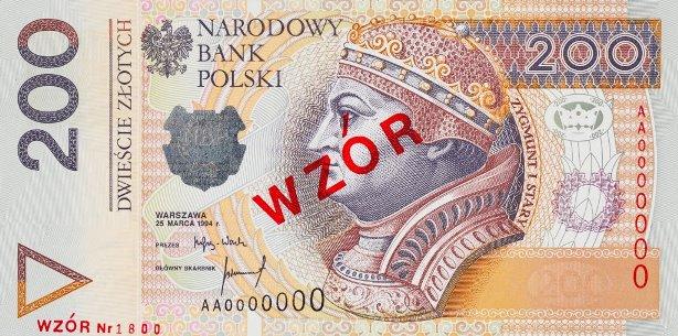 200 польских злотых