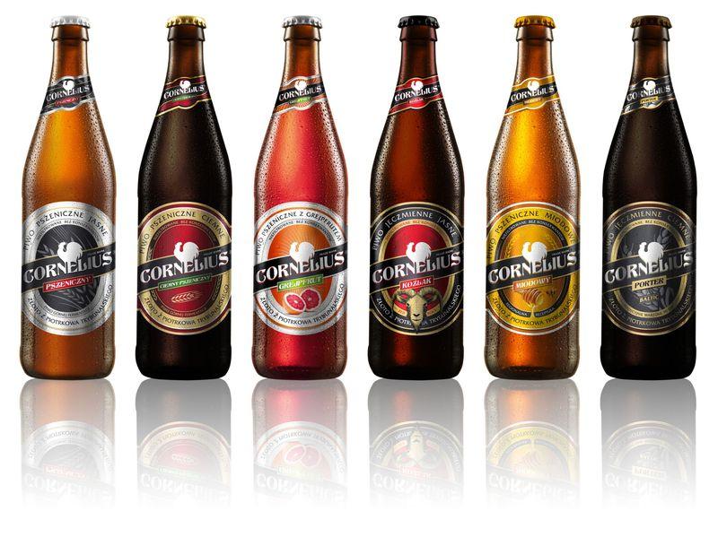 все сорта польского пива из пивоварни cornelius